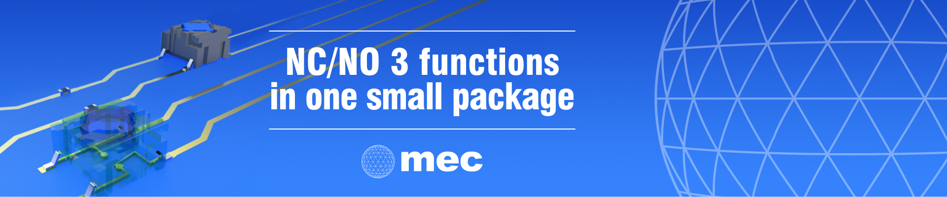 Did you know MEC offers NC/NO function in a tactile switch?