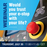 WOULD YOU TRUST YOUR E-STOP WITH YOUR LIFE?