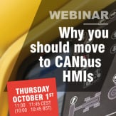 WHY YOU SHOULD MOVE TO CANBUS HMIs