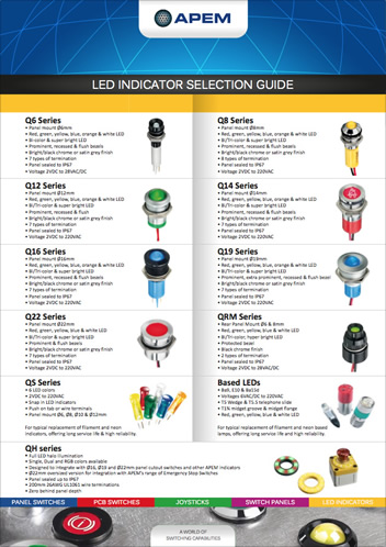 LEDs Selection guide