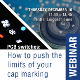 PCB switches: How to push the limits of your cap marking