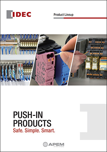 couverture brochure S3 push in Terminals