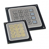 PQ series stainless steel keypads