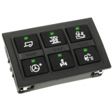 Keypad with 6 customizable keys