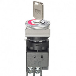 LW flush series - Key selector switches